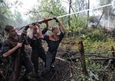 La Russie maîtrise les incendies près du centre nucléaire de Sarov
