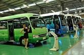 Vietnam-République du Sud: sortie des premiers camions Hyundai-Thaco