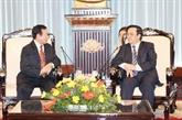 Croix-Rouge : renforcement des relations Vietnam-Laos