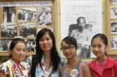 Une enseignante vietnamienne de l'école Hô Chi Minh à Kiev