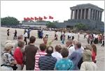 Grand afflux de touristes étrangers à Hanoi