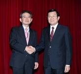 Vietnam-Japon : le chef de l'État reçoit une délégation du Kansai