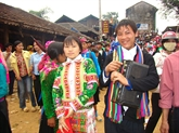 Le march de lamour de Xun Duong, un trait culturel original de Bac Kan 