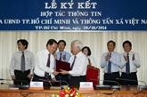La VNA et Hô Chi Minh-Ville resserrent leur coopération dans l'information
