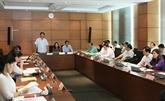 L'Assemblée nationale discute de questions socioéconomiques