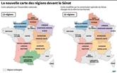 Réforme territoriales : le Sénat français vote une carte de 15 régions métropolitaines