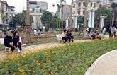 Hanoi : inauguration du parc Trân Quang Diêu