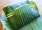 Filet de pangasius en papillote de feuille de bananier