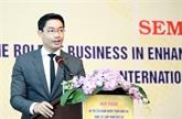 Colloque sur la compétitivité des entreprises