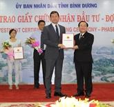 Davantage dinvestissements étrangers à Binh Duong