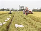Restructuration agricole, moteur du développement durable
