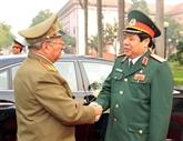 Vietnam-Cuba : entretien entre les ministres de la Défense