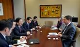 Une délégation vietnamienne en visite au Canada