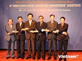 Le Vietnam à la 4e Conférence ministérielle République de Corée - Mékong