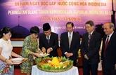 Célébration de la Journée de l'indépendance de l'Indonésie à Hô Chi Minh-Ville