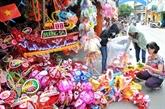 Fête de la mi-automne : les jouets vietnamiens s'accaparent le marché