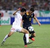 Le Onze vietnamien U19, finaliste de la Coupe Nutifood 2014