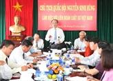 Le président de l'Assemblée nationale travaille avec la Fédération des avocats du Vietnam