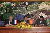 La France aide le Vietnam dans la lutte contre le changement climatique