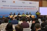 Forum dentreprises Vietnam-Union économique eurasiatique