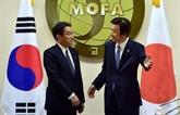 Accord historique entre Séoul et Tokyo