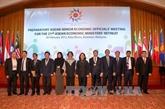 Conférence restreinte des ministres de l'Économie de l'ASEAN