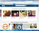 Un site internet sur les bons restaurants de Hanoi