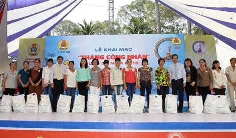Ouverture du Mois des ouvriers de Hô Chi Minh-Ville