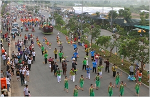 Bond de l'afflux de touristes à Cân Tho au premier semestre