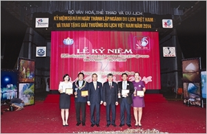 Pluie de récompenses pour Saigontourist