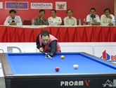 Clôture du Tournoi international de billard français de Binh Duong