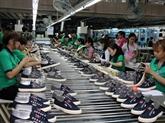 Bond des exportations nationales de chaussures aux États-Unis