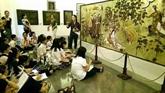 Apprentissage de l'histoire de l'art au musée
