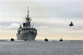 Un navire de la flotte canadienne du Pacifique mouille à Hô Chi Minh-Ville
