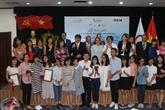 Remise des prix du concours «Jeunes Reporters Francophones»