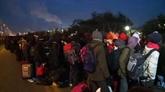 Jungle de Calais : lopération dévacuation des migrants reprend