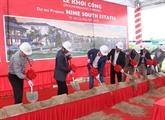 Mise en chantier des villas Nine South estates