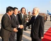 La visite officielle du chef du PCV est un succès, selon les dirigeants du Laos