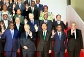 Le président Trân Dai Quang rencontre des dirigeants étrangers à Madagascar