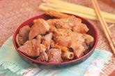 Pieds de porc à la citronnelle