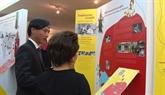 Exposition de timbres  Le Vietnam, le pays au charme infini  à Bangkok