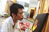 Le peintre qui voulait sortir du cadre du handicap