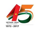 Les 45 ans des relations Vietnam-Inde : prix du concours de création de logo