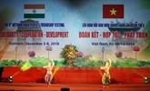 Ouverture du 8e Festival damitié populaire Vietnam-Inde à Hanoï