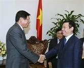 Le Vietnam favorise sa coopération avec le Laos dans la recherche des politiques économiques