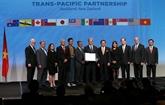 Signature de laccord de partenariat transpacifique