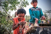 De l'eau potable pour les enfants défavorisés