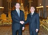 Le roi cambodgien Norodom Sihamoni félicite le Vietnam