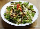 Salade de chou-rave au bœuf séché