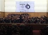 Concert de lOrchestre des lycées français du monde à Hô Chi Minh-Ville